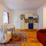 Apartament 2-osobowy z klimatyzacją z widokiem na ogród z 1 pomieszczeniem sypialnianym (możliwa dostawka)