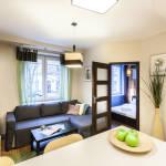 Városra néző Komfort 4 fős apartman 1 hálótérrel