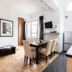 Apartament 6-osobowy Komfort z widokiem na miasto z 2 sypialniami