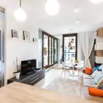 Apartament exclusive cu vedere spre gradina cu 1 camera pentru 4 pers.