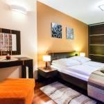 Apartament 4-osobowy na parterze Comfort z 2 sypialniami (możliwa dostawka)