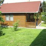 Kertre néző teljes ház 2 fős faház (pótágyazható)