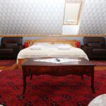 Pokój 5-osobowy na piętrze Przyjazny podróżom rodzinnym