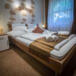 Komfort Doppelzimmer mit Aussicht auf den Wald