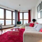 Apartament 4-osobowy Standard Plus z widokiem na morze