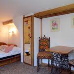 Studio Romantik franciaágyas szoba (pótágyazható)