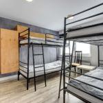 Emeleti Economy négyágyas szoba