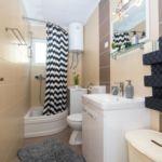 Apartament 4-osobowy z klimatyzacją z widokiem na morze z 1 pomieszczeniem sypialnianym