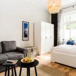 Apartament 2-osobowy Studio z prysznicem (możliwa dostawka)