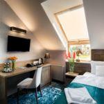 Fürdőszobás légkondicionált egyágyas szoba