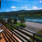 Ganzes Haus Ferienhaus mit Panorama auf den See (Zusatzbett möglich)