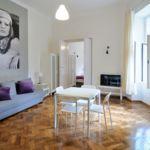 Apartament 7-osobowy z łazienką z aneksem kuchennym z 2 pomieszczeniami sypialnianymi