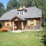 Erdőre néző teljes ház 11 fős parasztház