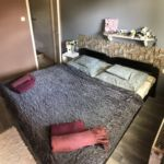 Földszinti fürdőszobás háromágyas szoba