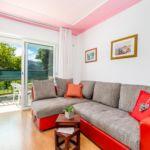 Hegyekre néző balkonos 5 fős apartman 2 hálótérrel (pótágyazható)