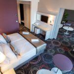 Studio 1-Zimmer-Suite für 2 Personen (Zusatzbett möglich)