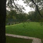 Parkra néző teraszos 3 fős faház