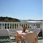 Camera twin cu balcon cu vedere spre mare