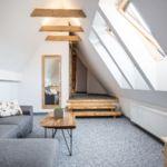 Family Apartman pro 6 os. se 2 ložnicemi s výhledem na hory