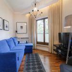 Apartament premium cu vedere spre gradina cu 2 camere pentru 4 pers.
