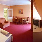 Emeleti Komfort 4 fős apartman 2 hálótérrel (pótágyazható)