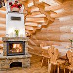 Erdőre néző teljes ház 8 fős faház