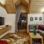 Apartament 4-osobowy Deluxe z widokiem na góry z 2 pomieszczeniami sypialnianymi