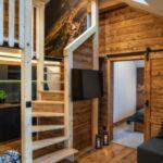 Apartament 5-osobowy Deluxe z widokiem na miasto z 3 pomieszczeniami sypialnianymi