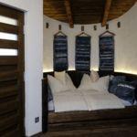 Kertre néző földszinti franciaágyas szoba (pótágyazható)