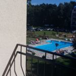 Apartament cu vedere spre gradina pool side cu 2 camere pentru 4 pers. (se poate solicita pat suplimentar)