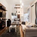 Apartament design la etaj pentru 2 pers. (se inchirieaza doar integral) (se poate solicita pat suplimentar)