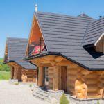 """Domek drewniany 7-osobowy """"A"""" z widokiem na góry"""