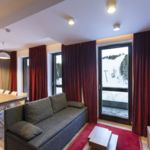 Трехкомнатный 6-местный апартамент Супериор с видом на горы