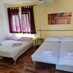Apartament cu aer conditionat cu 2 camere pentru 5 pers. (se poate solicita pat suplimentar)