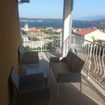 Apartament 2-osobowy na piętrze z widokiem na morze z 1 pomieszczeniem sypialnianym (możliwa dostawka)