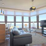 Apartament 4-osobowy Deluxe z widokiem na morze