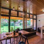 Apartman s klimatizací pro 4 os. se 2 ložnicemi s výhledem do zahrady (s možností přistýlky)
