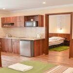Apartament 4-osobowy na piętrze Przyjazny podróżom rodzinnym z 2 pomieszczeniami sypialnianymi (możliwa dostawka)