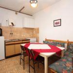 Apartament cu aer conditionat cu vedere spre mare cu 2 camere pentru 5 pers. A-782-a