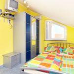 Légkondicionált teraszos 2 fős apartman 1 hálótérrel AS-6178-c