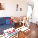 Apartament cu aer conditionat cu vedere spre mare cu 1 camera pentru 5 pers. AS-10192-c