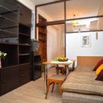 Apartament cu aer conditionat cu terasa cu 1 camera pentru 2 pers. A-4180-b