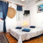 Apartman s klimatizací pro 4 os. s 1 ložnicí s výhledem na moře A-9334-a