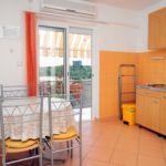 Tengerre néző légkondicionált 3 fős apartman 1 hálótérrel A-5569-b