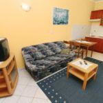 Apartament 4-osobowy z klimatyzacją z widokiem na morze z 2 pomieszczeniami sypialnianymi A-5593-a
