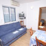 Apartament cu aer conditionat cu vedere spre mare cu 1 camera pentru 5 pers. A-3276-a
