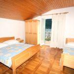 Apartament cu aer conditionat cu vedere spre mare cu 2 camere pentru 5 pers. A-4866-b