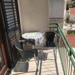 Tengerre néző erkélyes 3 fős apartman 1 hálótérrel AS-13179-a
