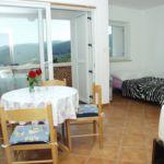Apartament 4-osobowy z klimatyzacją z widokiem na morze z 1 pomieszczeniem sypialnianym A-2323-a