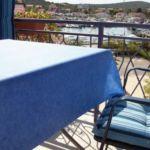 Apartman s klimatizací pro 4 os. se 2 ložnicemi s výhledem na moře A-5057-d